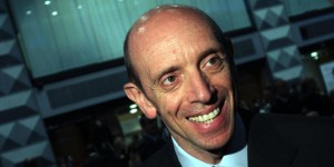 """Antonio Mastrapasqua , presidente dell'Inps, mentre partecipa a Milano alla """"Giornata nazionale della previdenza 2012"""", Milano 10 maggio 2012. MATTEO BAZZI / ANSA"""