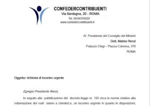 immagine-di-richiesta-incontro-urgente-con-il-presidente-renzi