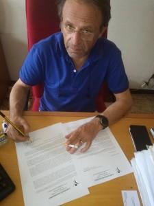 Finocchiaro scrive a Renzi