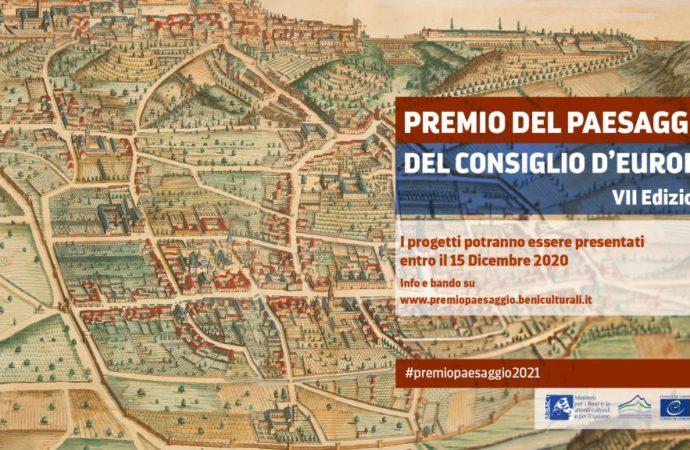 TURISMO. VII Edizione del Premio del Paesaggio del Consiglio d'Europa